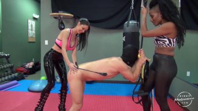 Mistress Susi, Jet Setting Jasmine - The Kinky Fitness Gym