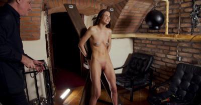 Slim Slave Struggle With Herself