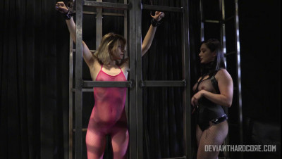 Izzy Bell Skinny ballerina made to cum by mistress Lea Lexis (2015)