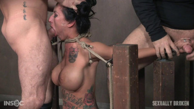 Lily Lane Is Destroyed By A Brutal Face Fucking, While Being Made To Cum Over And Over