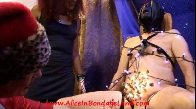 Deck The Balls Part 2 - Kinky Xmas Tree Nipple Clamp Ornaments