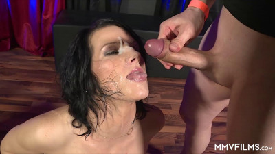 Dripping in Cum and Pumping