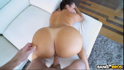 big booty julianna cleaning hotel room