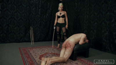 Cruel Punishments – Lady Anette – Screaming like a madman Part 1