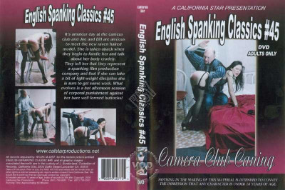 English Spanking Classics Part 45 Camera Club Caning (1996)