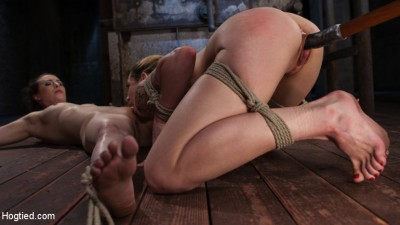 Casey and Dahlia Suffer Together in Brutal Bondage