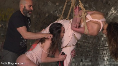 Description Newbie Penelope Gets Suspended, Flogged and Fucked