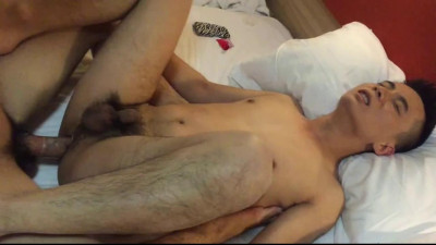 Chinese Maleshow – Kaka Hard Threesome Orgy