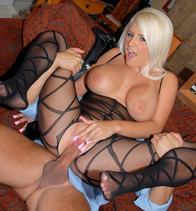 Naughty Blonde Stuffed His Face In Her Enormous Boobs