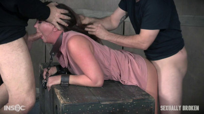 Maddy O'Reilly is sexually brutalized by cock and bondage.