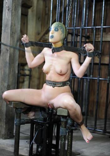 BDSM punishment in action
