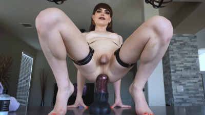 Natalie Mars Enjoys Extra Ass Training With Huge Dildos