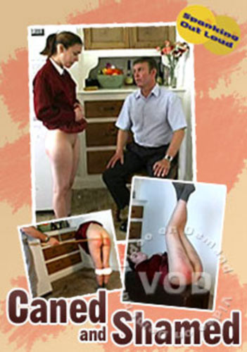 Caned And Shamed DVD