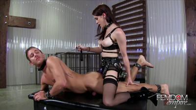 Anna Deville - Stretching his boyhole