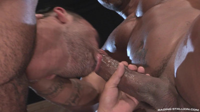 Massive uncut cock in rough anal