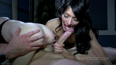Joanna and Brandi - A Private Party For Three