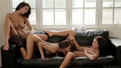 A porno with Whitney and Janice and Mia