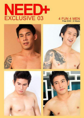 Four Thai handsome naked model in Need exclusive 3