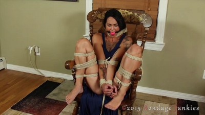 Electricity Tickling And Bound Orgasm part 4