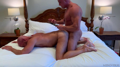 MO30 - Big Dicked Muscle Daddies: Tyler Saint, Ace Banner Bareback