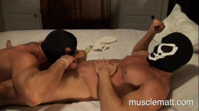 Description MuscleMatt - Cock Sucker Academy Part 3 Jason's Private Lesson With Carlo