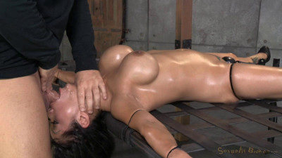 SexuallyBroken  Deepthroat specialist Gaia restrained