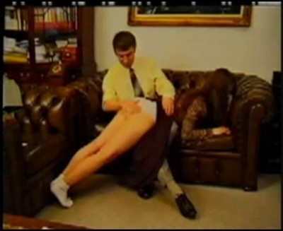 RussianInstitute – Spanked By Teacher