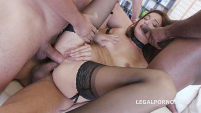 Roxy Dee In Triple Anal Orgy