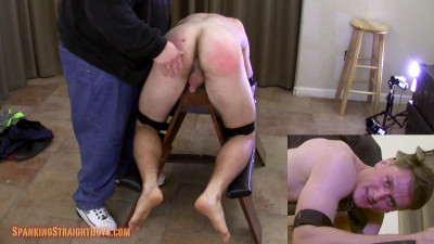 Spanking Straight Boys - Jared on the Bench
