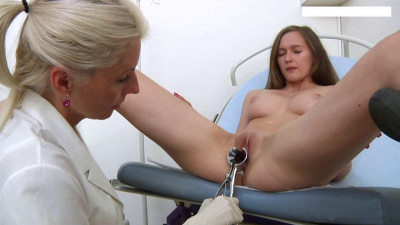 Stacy Cruz (19 years girl gyno exam)