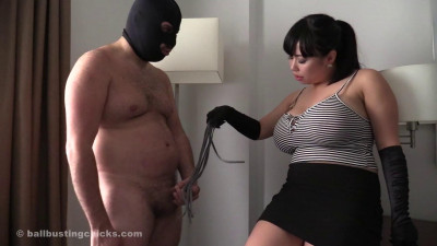 Big tits and a pathetic loser