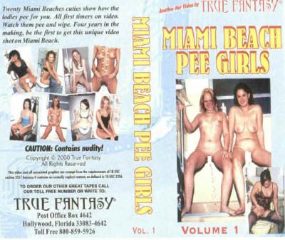 Description Miami Beach Pee Girls Vol.1