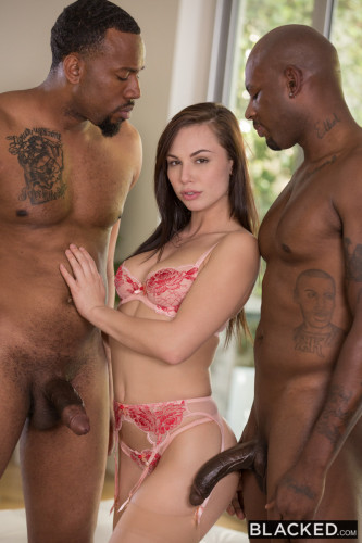 Beautiful Student Takes Two BBCs