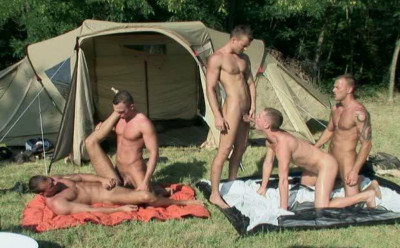 My First Nature Gangbang