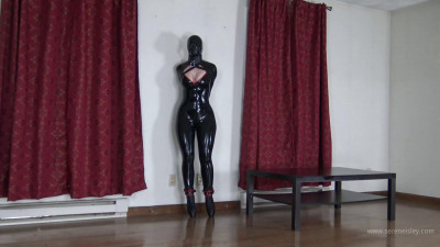 Latex Bondage Captive