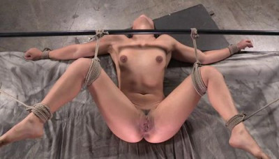 Description Tiny Little Sarah Luvv Bound Blindfolded