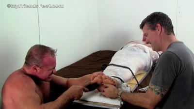 Dominic Mummified & Tickle Tortured