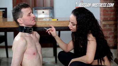 Russian Mistress - Kristall Rush Human Ashtray