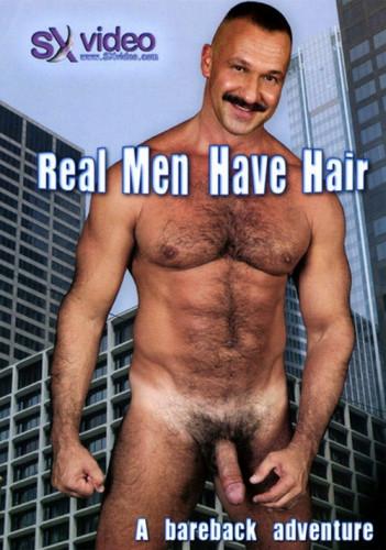 Description Real Men Have Hair