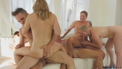 Trade Partners & Turns Party Into Wild Orgy