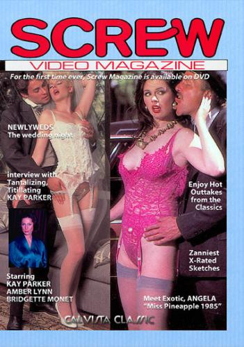Description Screw Video Magazine(1985)- Amber Lynn, Kristara Barrington