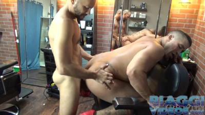 bv - Trey Turner & Antonio Biaggi (Barbers Fuck)