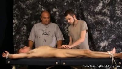 Moderate Teasing Handjobs - Four Teasing Hands