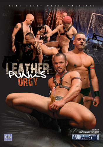 Description Leather Punks Orgy - Owen Hawk, Matthias Von Fistenberg