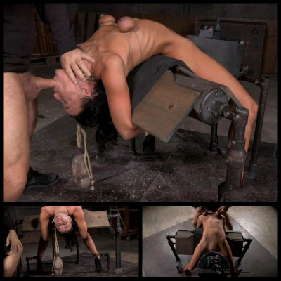 Sybian In A Brutal Backarch (3 Jun 2015) Sexually Broken