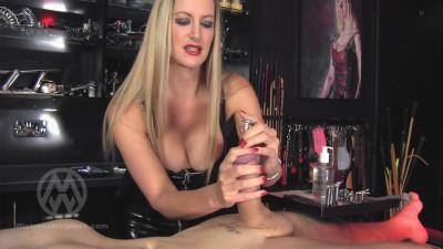 Mistress Nikki Whiplash — Extreme urethral stretching & depth training