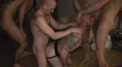 Uncut Orgies With Tough Males