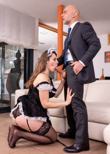 Maid Sofia Curly Pleases Master FullHD 1080p