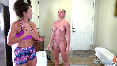 Lauren Nude Workout With Tomiko Part Three