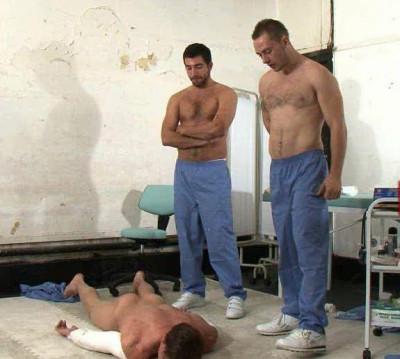 Description Cruel medical trampling